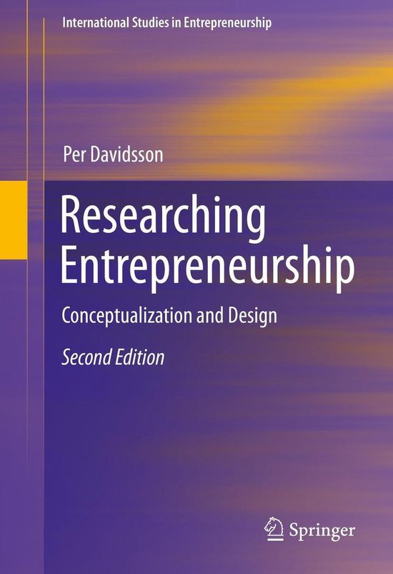 Researching Entrepreneurship