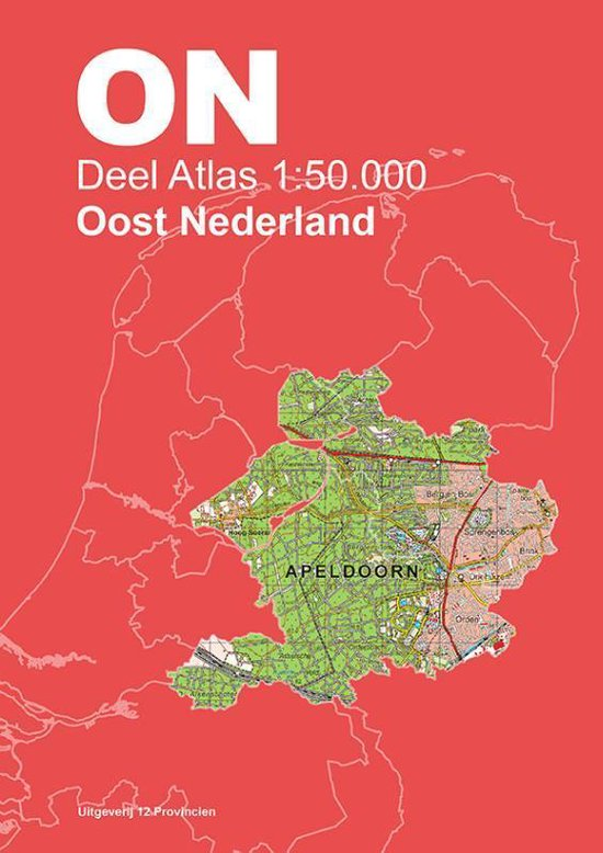 Topografische Atlas 1:50.000 Oost-Nederland - none |