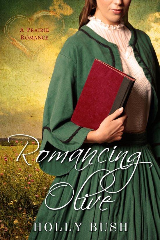 Boek cover Romancing Olive van Holly Bush (Onbekend)