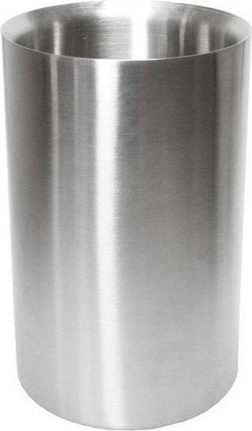wijnkoelers  RVS   flessenkoeler   ijsbak   wijn koeler   water koeler   koud   tafelen   wijnkoeler   dubbelwandig