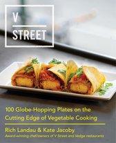 Boek cover V Street van Rich Landau