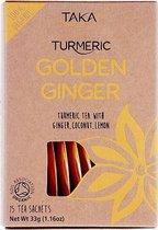TAKA Turmeric / Kurkuma-thee met Gember Biologisch -