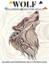 Wolf Coloring Book for Adult