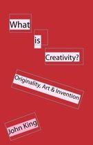 Boek cover What is Creativity? van John King