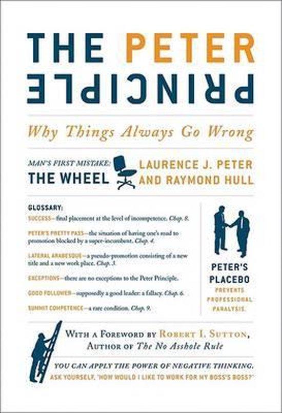 Boek cover The Peter Principle van Dr. Laurence J Peter (Hardcover)