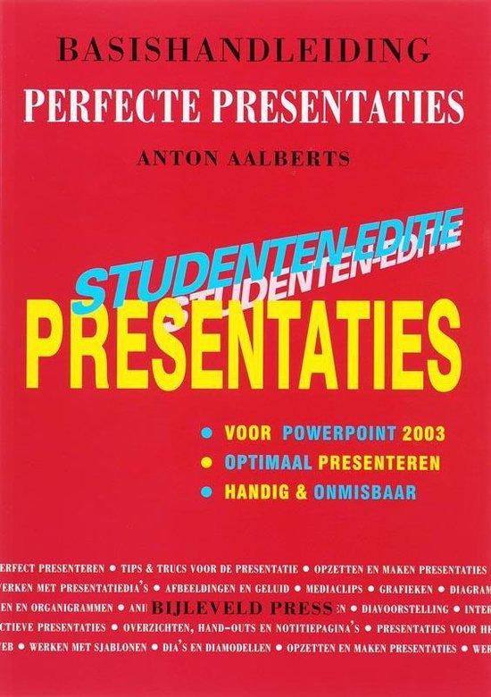 Cover van het boek 'Basishandleiding perfecte presentaties met PowerPoint 2003'