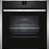 Neff B27CR22N1 Electrisch 71l 3600W A+ Zwart, Roestvrijstaal oven