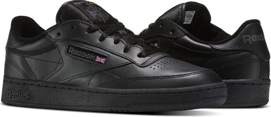 Reebok Club C 85 Sneakers Heren - Intense Black/White-Gum - Maat 40