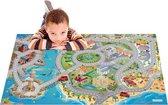 Speelkleed kinderen Vakantie aan Zee 1OOx150