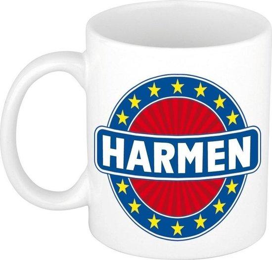 Harmen naam koffie mok / beker 300 ml  - namen mokken