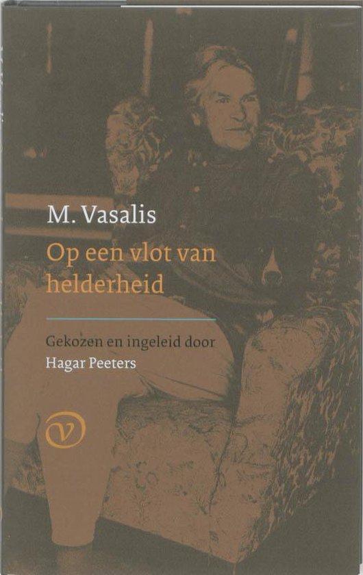 Boek cover Op Een Vlot Van Helderheid van M. Vasalis (Hardcover)
