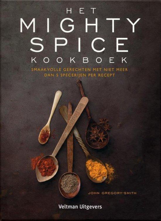 Boek cover Het mighty spice kookboek van John Gregory-Smith (Hardcover)