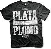 Narcos Plata O Plomo t-shirt heren 2XL