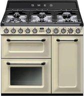 Smeg TR90P fornuis gas (kookplaat) + elektrisch (oven) TR 90 TR90 TR 90 P