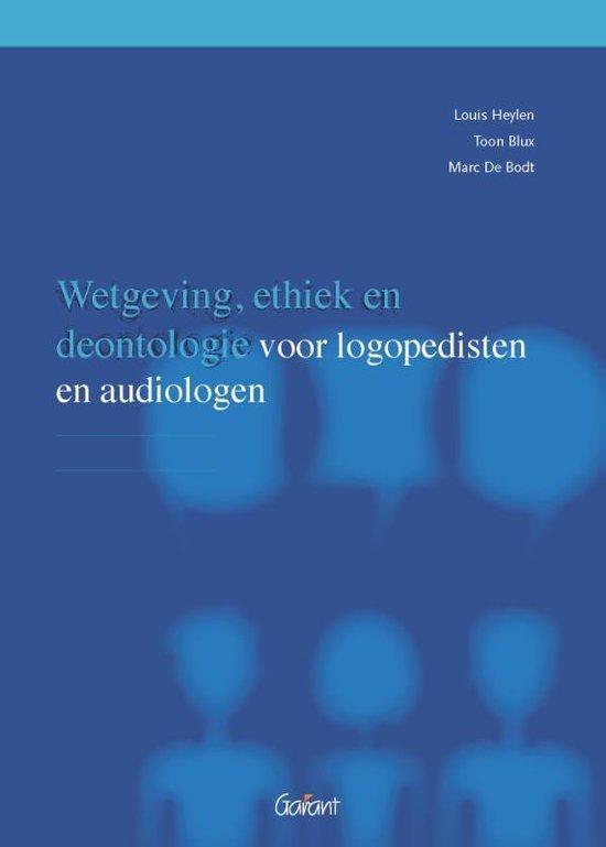 Omtrent Logopedie 4 - Wetgeving, ethiek en deontologie - Louis Heylen |