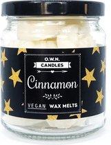 O.W.N. Candles Waxmelts Gift Jar Cinnamon