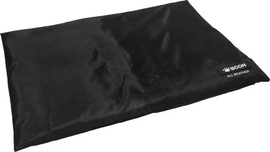 Wooff Bench Bed Xtreme 600d - Hondenkussen - Zwart - 106x70 cm