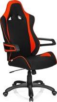 hjh office Racer Pro II - Bureaustoel - Stof - Zwart / rood