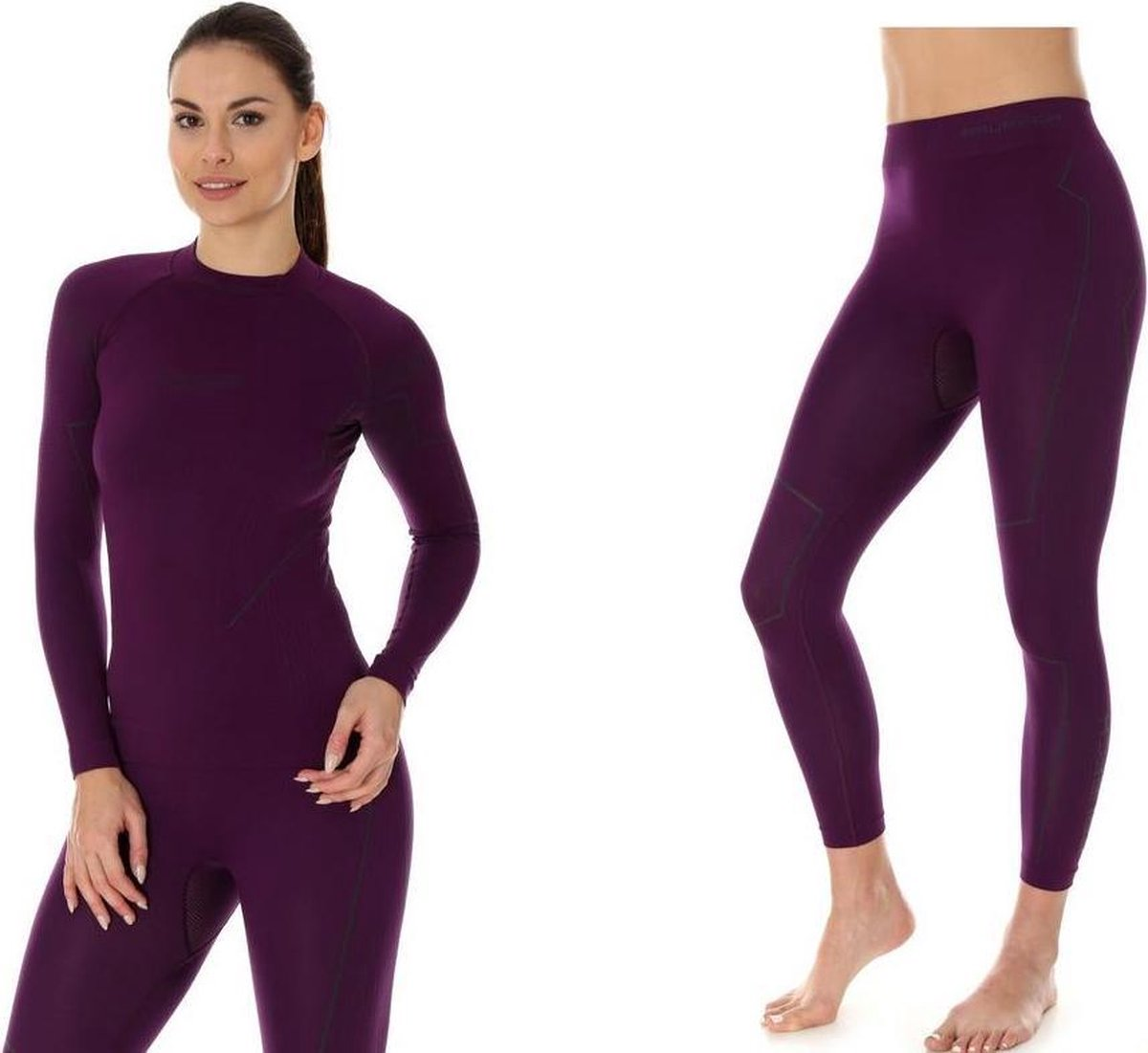 Brubeck | Dames Thermo Set - Thermokleding - met Nilit® Innergy - Violet - XL