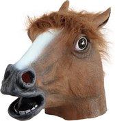Paarden masker bruin voor volwassenen