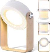 LuxerLiving ledlamp met sensor - Ledlampje - Kamerlamp - Bureaulamp led - Campinglamp - Lantaarn binnen en buiten - Nachtlampje kinderen en volwassenen
