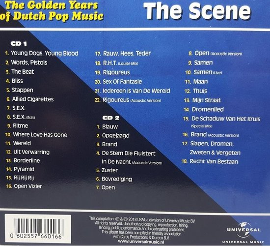 The Golden Years Of Dutch Pop Music - The Scene