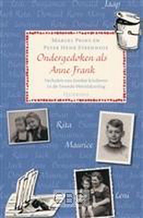 Ondergedoken als Anne Frank - Marcel Prins | Fthsonline.com