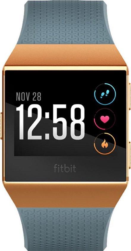 Fitbit Ionic - Smartwatch - Blauw/Oranje
