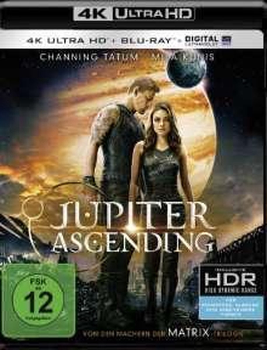 Jupiter Ascending (Ultra HD Blu-ray & Blu-ray)-