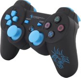 Dragon War Wireless PlayStation 3 Dragon Shock Bluetooth Controller - Zwart (PS3)