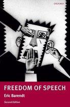 Omslag Freedom of Speech