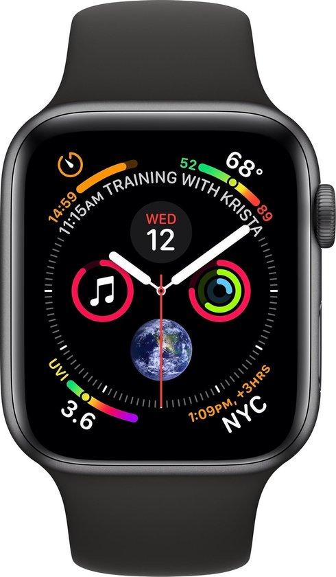 Apple Watch Series 4 - Smartwatch - Spacegrijs - 44mm