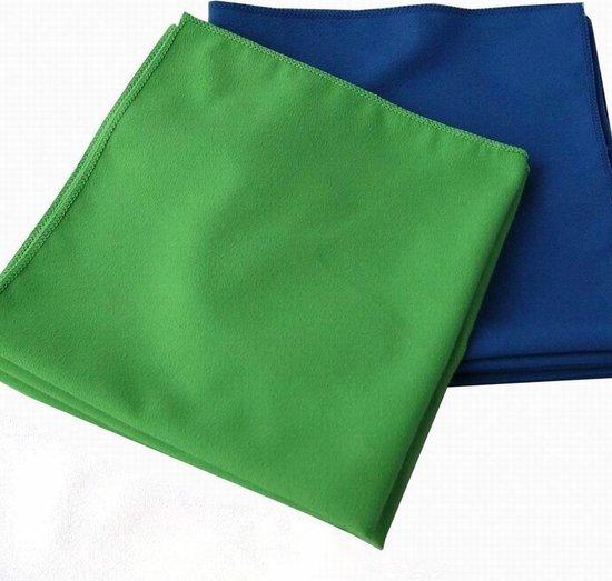 QFS - 10x Microvezeldoekjes (27x29) – Groen & Blauw