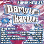 Party Tyme Karaoke: Super Hits, Vol. 28