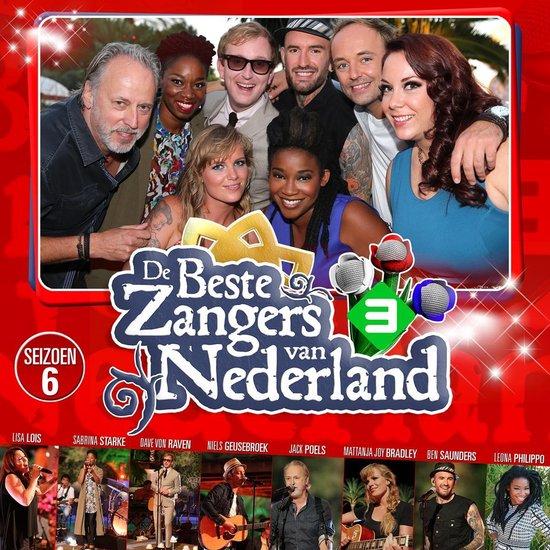 CD cover van De Beste Zangers Van Nederland - Seizoen 6 van various artists