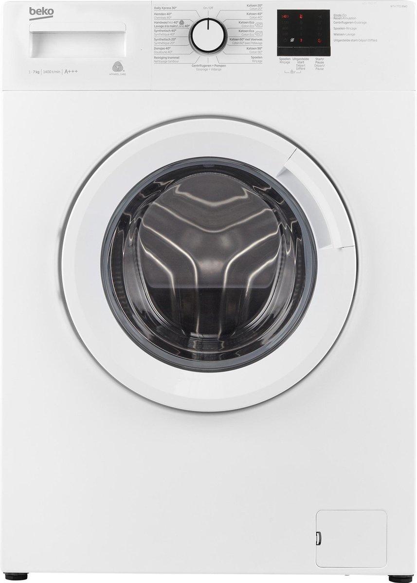 Beko WTV7711BW0 – Wasmachine