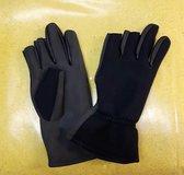 HCN neopreen handschoenen 2 vingers maat L