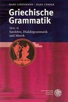 Boek cover Griechische Grammatik, Teil II van Hans Färber