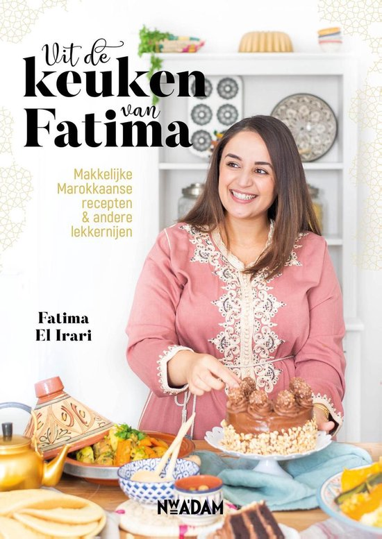 Boek cover Uit de keuken van Fatima van Fatima El Irari (Hardcover)