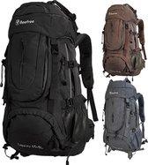 Beefree 70 Liter Backpack | Inclusief regenhoes | Frontlader | Extra stevig | Updated 2019 model | Z