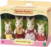 Sylvanian Families - Familie Chocoladekonijn  - Speelfigurenset 4150