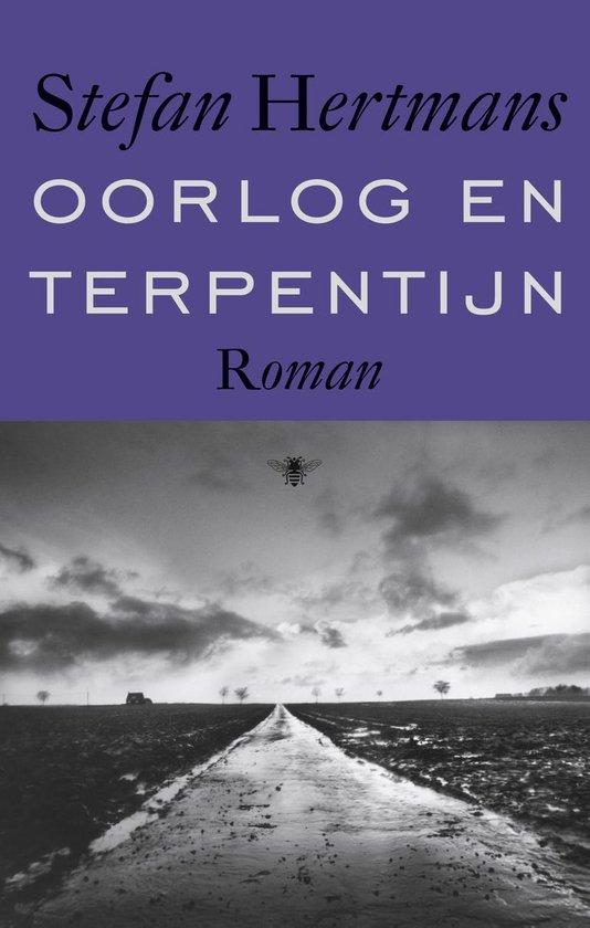 Boek cover Oorlog en terpentijn van Stefan Hertmans (Onbekend)