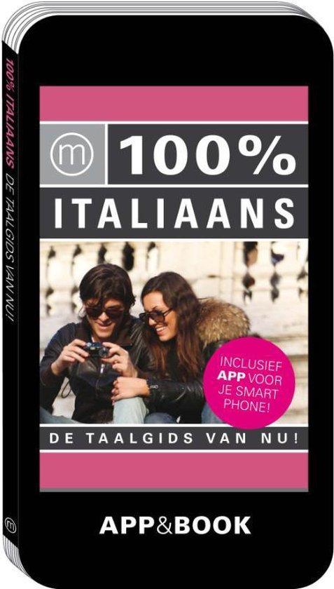 Cover van het boek '100% Italiaans' van  Nvt