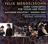 Early Concertos For  Violin & Piano