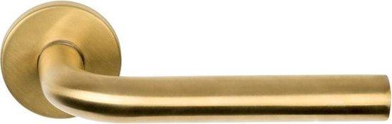 Formani BASIC LBIII-19 deurkruk op rozet - PVD mat goud - 1501D144IMXX0
