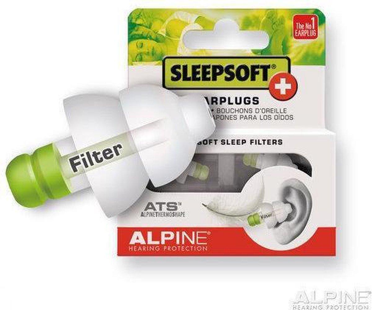 Alpine Sleepsoft Plus - 1 paar - Oordoppen - Alpine Hearing protection