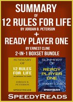 Omslag Summary of 12 Rules for Life: An Antidote to Chaos by Jordan B. Peterson + Summary of Ready Player One by Ernest Cline 2-in-1 Boxset Bundle