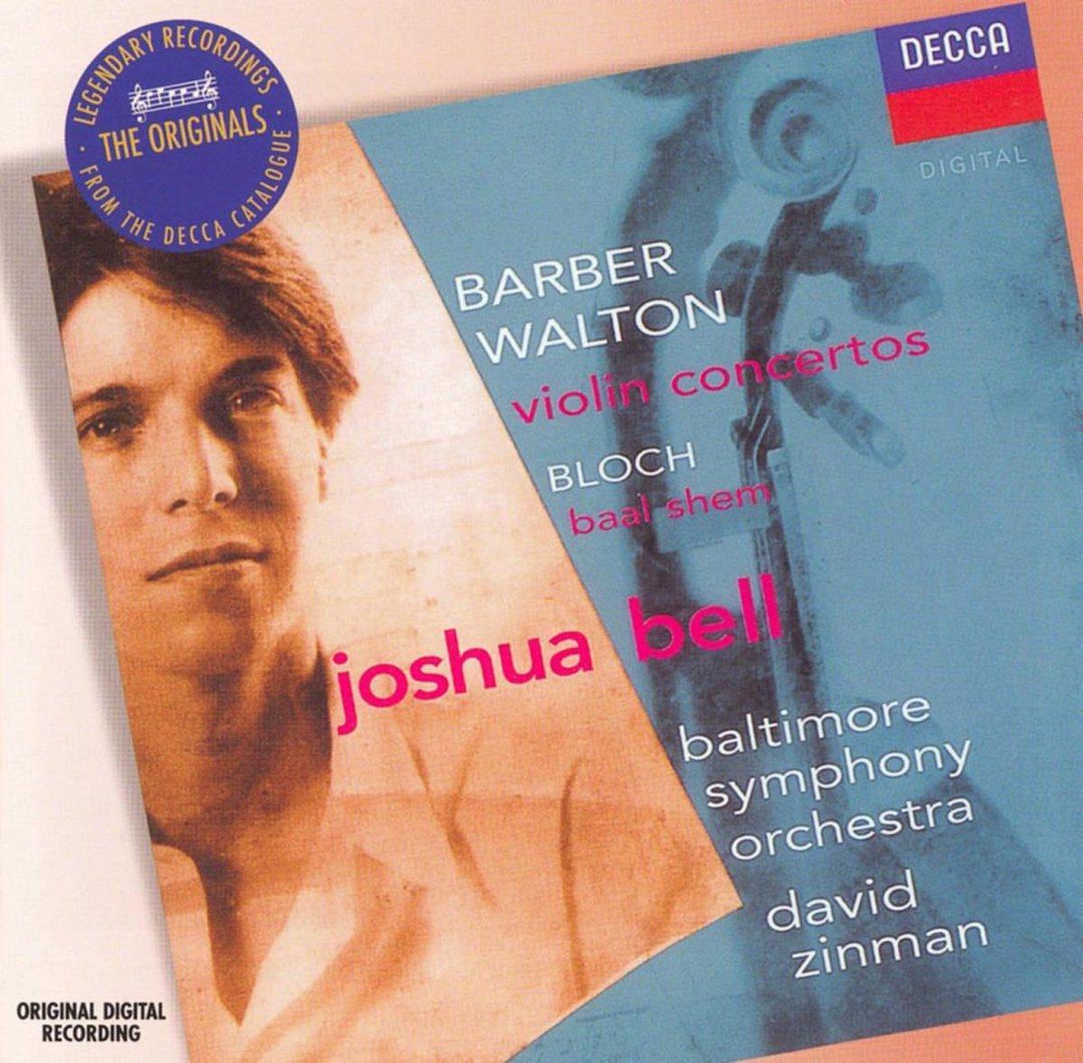 Violin Concerto/Baal Shem - Joshua Bell