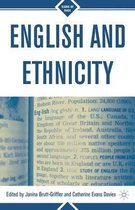 Boek cover English and Ethnicity van Janina Brutt-Griffler