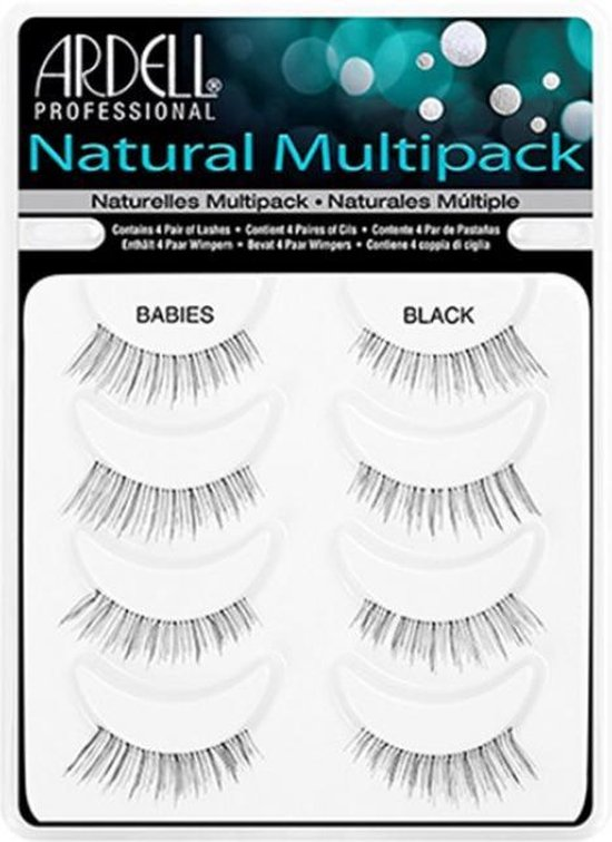 Ardell Nepwimpers Natural Multipack Babies Black